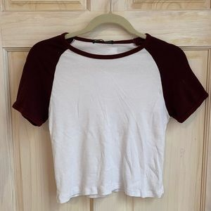 Crop top from brandy Melville